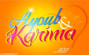 AyOub AnD KariMa by beddouj