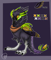 Alien Bird Adopt (Closed) by AmoreSyLv
