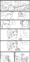 Castiel wants..02: A garden of flowers by sweetdari