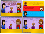 Dan Comics No.65 - New Girl in Town 18 by TheHappySpaceman01