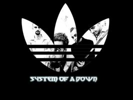 sysTem oF a doWn-adidas style by blakhaze