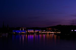 A bit of Linz at night by j-amie