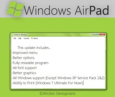 AirPad 1.5.0 Download by WinSkinOfficial