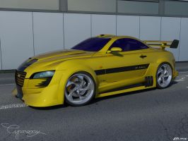 Audi R10cx. Concept env. by cipriany