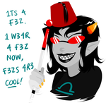 Fez's are cool by Cursed-cat
