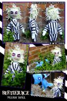 Beetlejuice Plush Doll by tavington