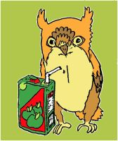 owl juice with colour by inner-etch