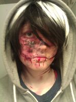.:creepypasta OC cosplay:. Crow by cosplayplz