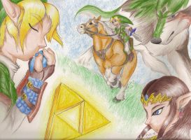 B-DAY GIFT: Hyrule legends by Super-Sonic-101
