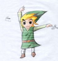 Toon Link by bowseganonlink