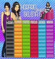 HOARIO SELENA 9 HORAS BY ALE by DDLoveEditions