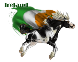 Horse Hetalia:  Ireland by Moon-illusion