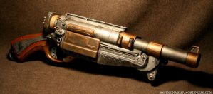Steampunk Barrel Break 5 Final by JohnsonArms