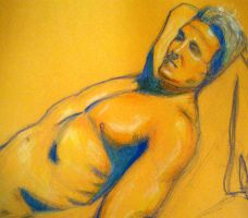 life drawing by BloodyBrianBot