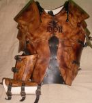 """""""Ronan"""" leather armor by Ars-Antiqua"""