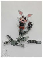 five nights at freddy's 2 the mangle papercraft by Adogopaper