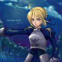 Saber Fate Stay night by Armelia