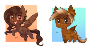 chibi pony batch 9 by pekou