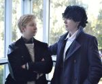 BBC Sherlock cosplay from Tracon 2014 by RaviTheBlueTiger