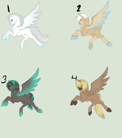 Pegsi Holiday Adopts OPEN by PonyAdoptsShared