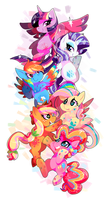 New Rainbow Power by ChocoChaoFun