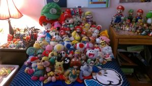 My Video Game Stuffed Animal Collection by BabyLuigiOnFire