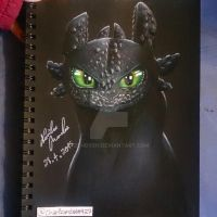 Toothless! by zdhdveh