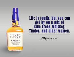 Blue Creek Whiskey by Ommin202