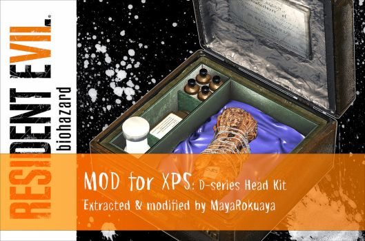 MOD for XPS: D-series Head Kit by MayaRokuaya