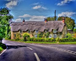 A Cottage in Middle Barton by s-kmp
