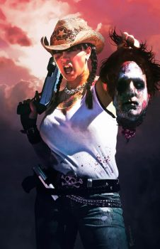 Issue 1 of Zombie Hunter X by Everette Hartsoe by badgirlartwork