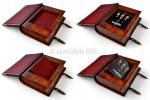 Leather book / box by alexlibris999