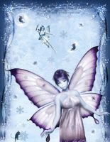 Winter Fairy Fantasys by pixievamp