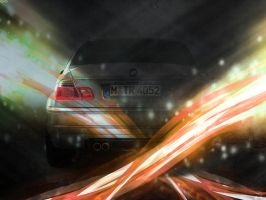 BMW M3 Abstract WP by g0dz5