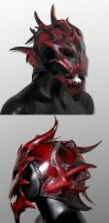 Demon Helm by Azmal