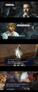 Link wants to be a Millionaire by haelwyn
