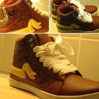 Custom sneakers by gam3ov3r
