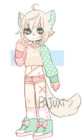 Stitched up Cat- flatprice- CLOSED by Kiwi-adopts