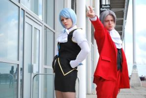 Miles and Franziska objection by black-ravens-blood