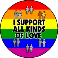 I Support All Kinds of Love by Hazel-Almonds