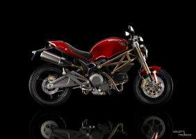 Ducati Desmo 696 by lolloide