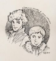 Sherlock and John by ermitanyongpalits