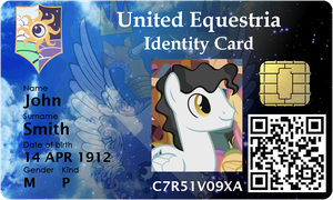 United Equestria Identity Card by jeurobrony