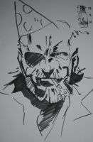 Big Boss happy new year by M4n1nm1rr0r