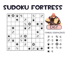 Sudoku Fortress 1 by ZeFrenchM