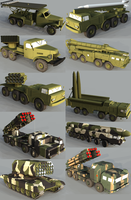 Russian Rocket Artillery by 1Wyrmshadow1