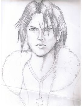 Squall portrait by ronin-ai