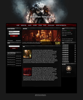 Wolfman gaming template by ZoOorO