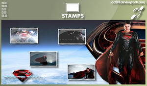 Stamps - 2013 - Man Of Steel by od3f1