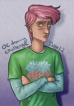 OC Challenge 12 by past-liam